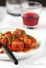 Polpette di pollo al sugo siciliano