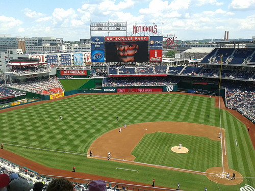 Nationals Park, June 7, 2012