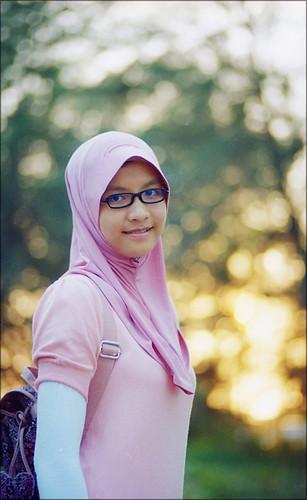 Femme voilée, hijab