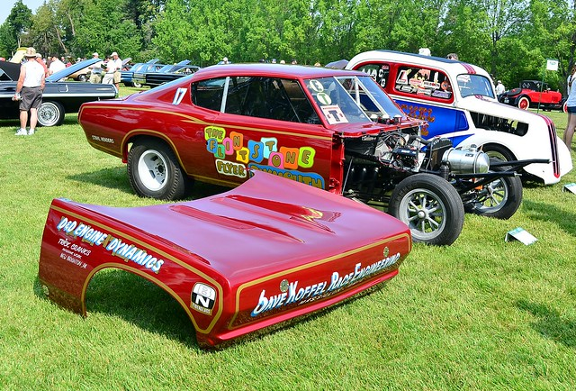 1968 Plymouth Barracuda Funny Car Flintstone Flyer
