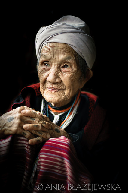 Thailand, Mae Sariang. WHITE KAREN GRANDMA.  Flickr ...