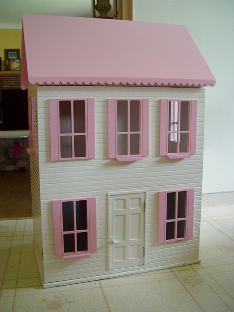 rummage sale dollhouse