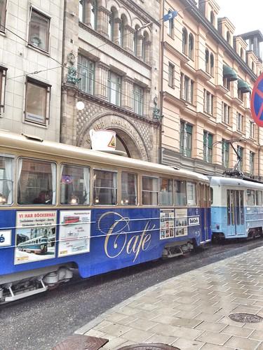 cafe tram stockholm