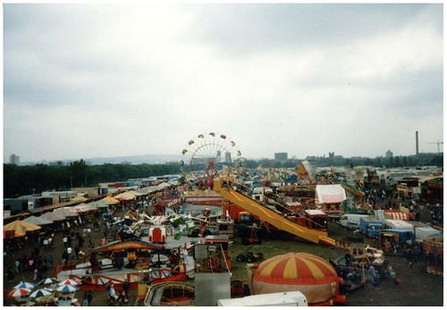 View of the Hoppings, 1990