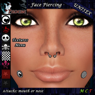 *P* Unisex Face Piercings ~GROUP GIFT~
