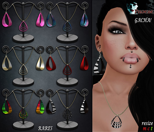 [NEW!] *P* Teardrop MESH Jewelry Sets ~ Gacha Serie 1