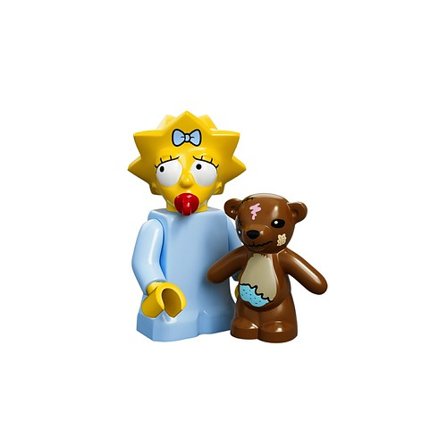 71005 The Simpsons Collectable Minifigures Maggie Simpson