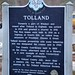 Tolland Historical Marker