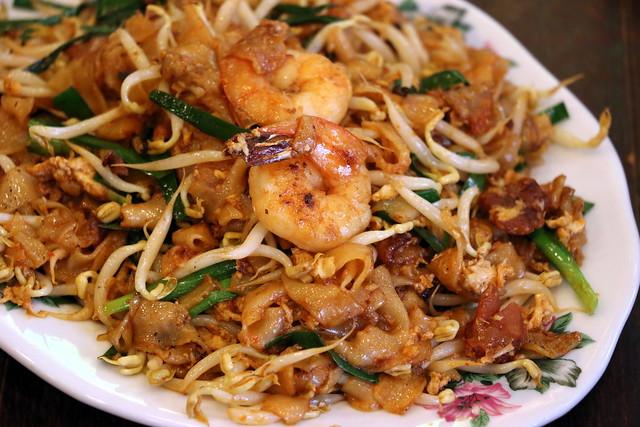 Penang char kway teow at Malaysia Boleh