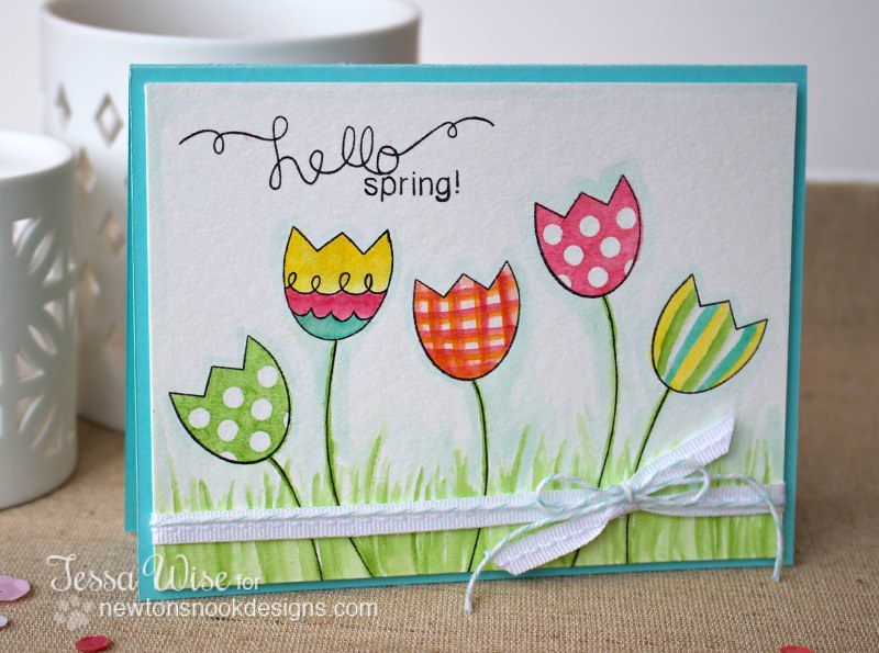 Hello Spring Card 1