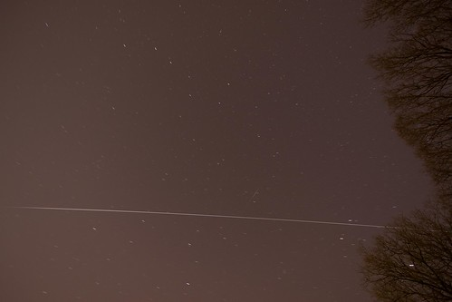 International Space Station Passing overhead