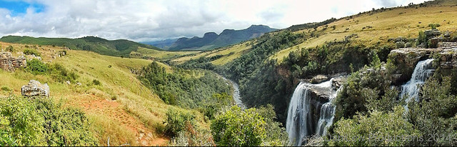 Lisbon Falls on Panoramic Route, Mpumalanga, South Africa - taken with a Nikon Coolpix AW110