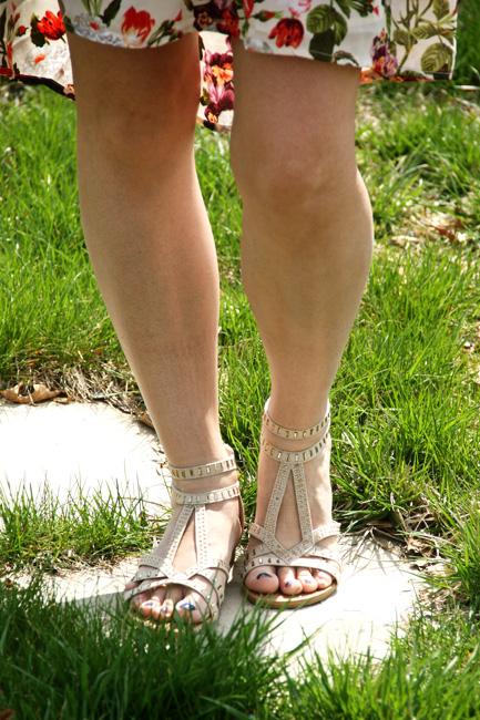 Floral-Dress-Sandals
