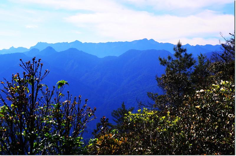 榛山觀景台東南眺聖稜線 1