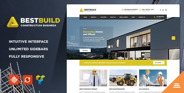 BestBuild v2.8 - Construction & Building WP Theme
