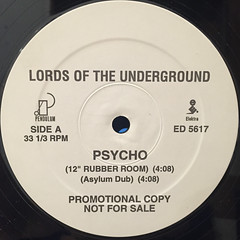 LORDS OF THE UNDERGROUND:PSYCHO(LABEL SIDE-A)