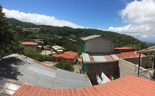 Santa Elena: vue depuis notre balcon
