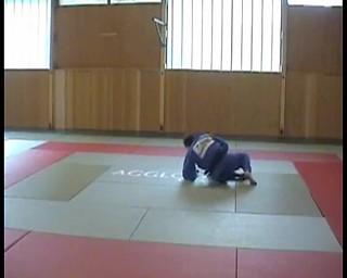Kondo Fumiaki-osoto gari jobbos fogásból balra