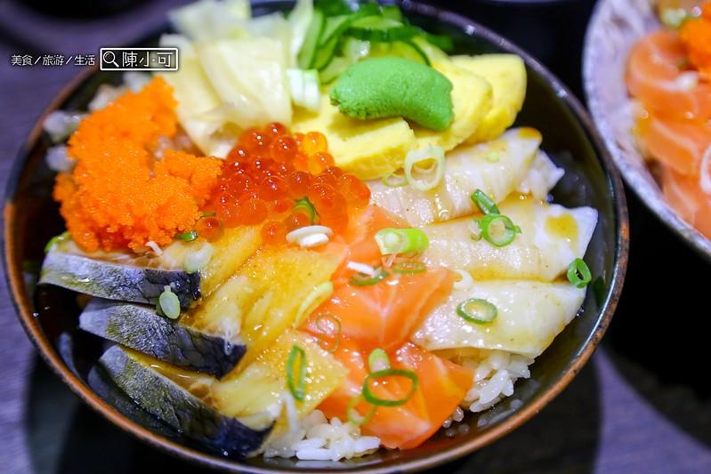 漁師日本料理 生魚片飯【三重日本料理】漁師生魚舖,用餐享有味噌湯免費自取,三重新鮮好吃的生魚片丼飯!三重餐廳推薦