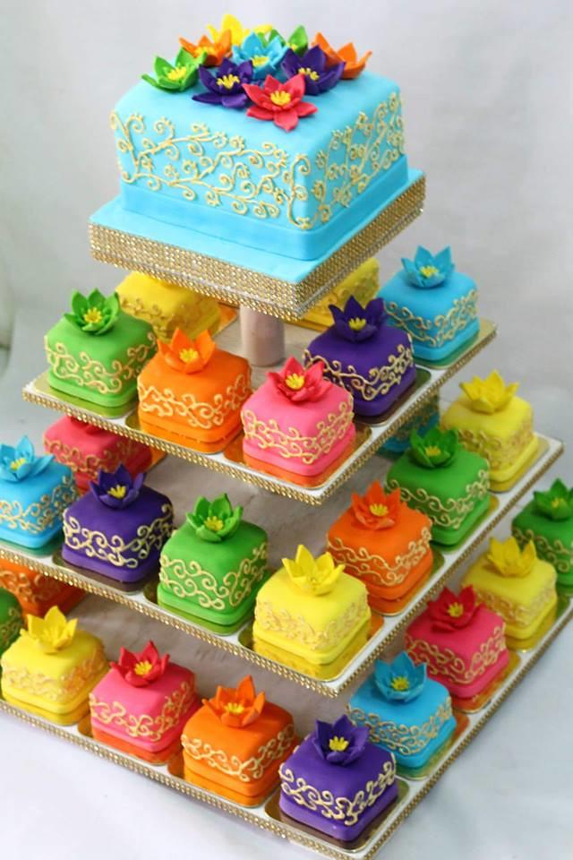 Emily Martinez-Tabora's Colorful Cake