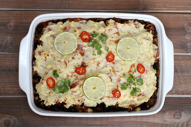 Tamale Shepherds Pie