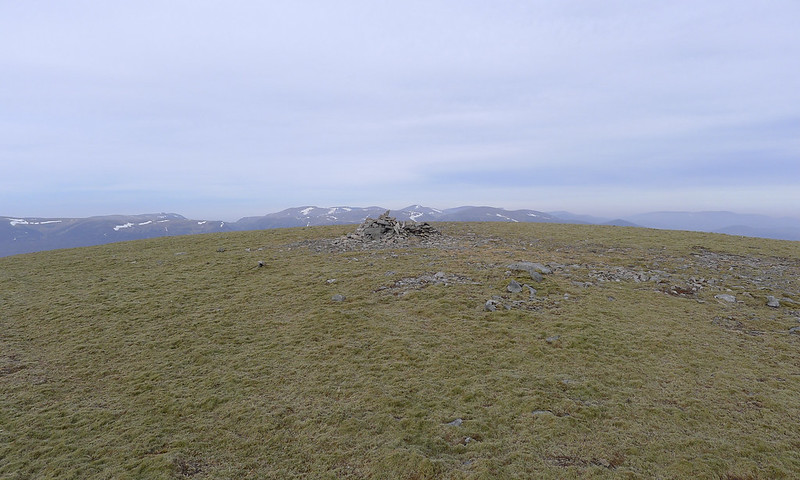 Summit of Carn an Fhidhleir
