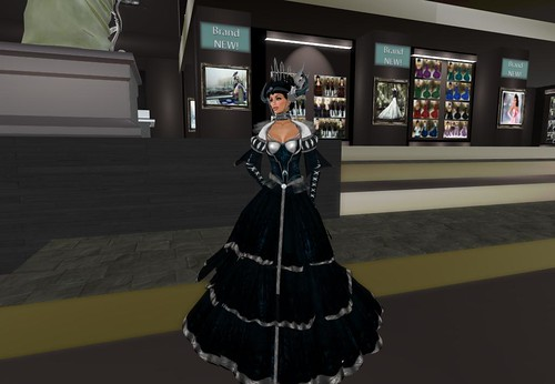 TWA Dark Empress Gown Set, 899 lindens by Cherokeeh Asteria