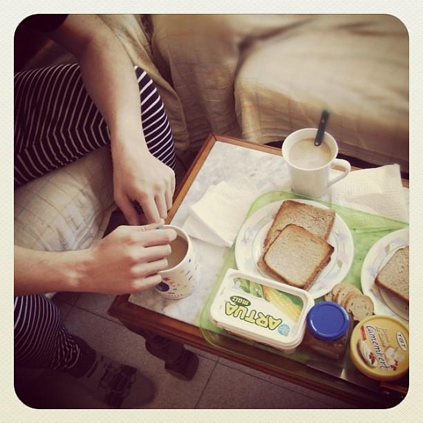 Desayuno en África
