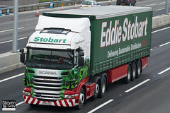 Scania R440 6x2 Tractor - PF10 AEZ - Mandy Jane - Green & Red - 2010 - Eddie Stobart - M1 J10 Luton - Steven Gray - IMG_4589