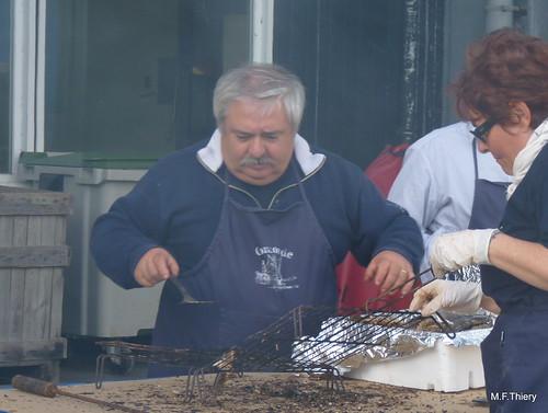 Confrérie de la sardine à la fête de la bonnotte