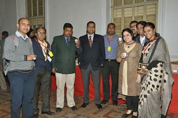 Sudipto, Atanu, Jaijit, Abhishek, Vidhyasagar, Karishma, Sabyasachi, Myself & Ramyanee