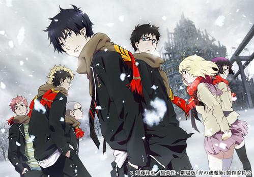 120331(2) - 劇場版《青の祓魔師》公佈第一張宣傳海報,核心製作群大風吹,預定於今年冬天首映!