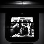 Subway Morning photo métro noir et blanc matin