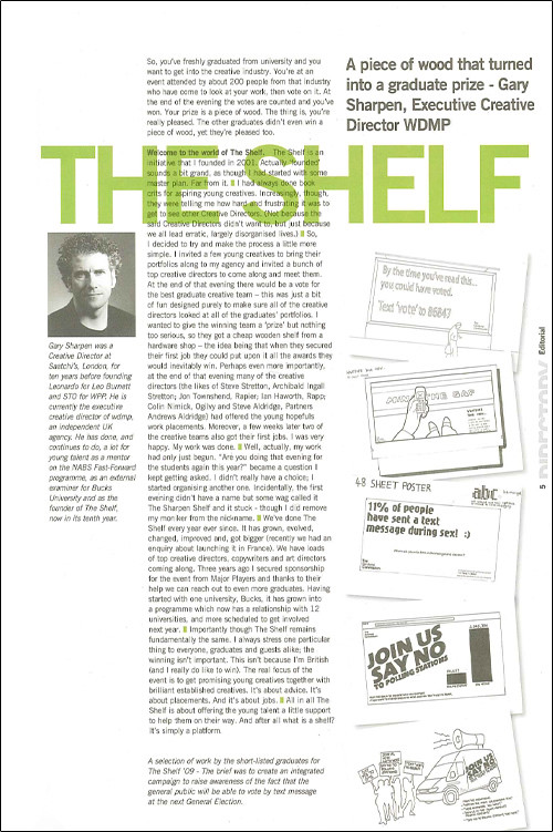 Directory: The Shelf