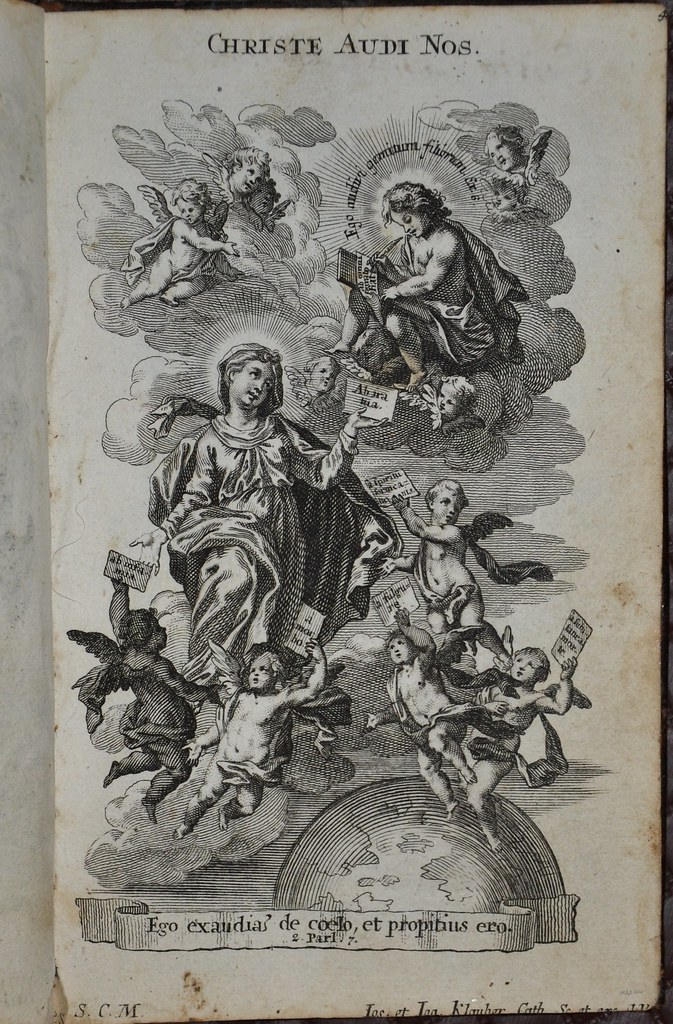 Christe audi nos 'Christ hear us' - Bible Pictures 1757