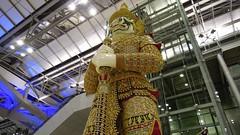 Yaksha Statue, Bangkok International Airport