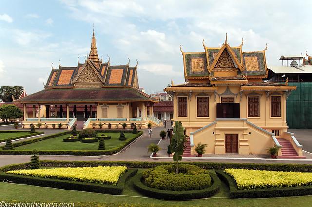 Pagodas, pavilions, palaces.