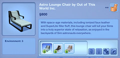 Astro Lounge Chair by Out of this World Inc