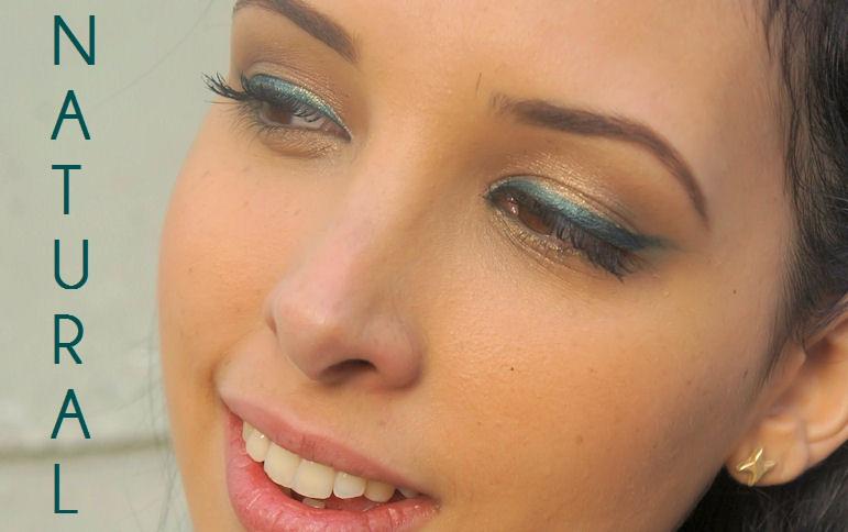 Maquillaje romántico y natural