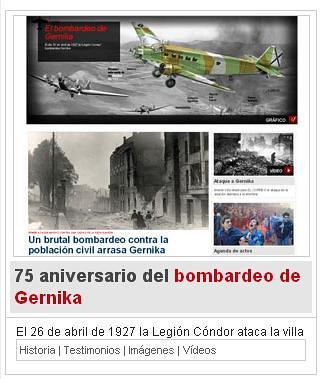 Especial 75 aniversario del bombardeo de Gernika
