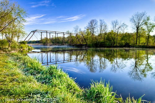 county morning bridge trees winter sunset summer sky reflection fall nature water wisconsin clouds burlington sunrise canon studio photography eos rebel landscapes spring seasons 10 steel sigma whitney nate 20 racine truss 684 t1i