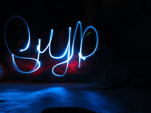 Light-painting ♥