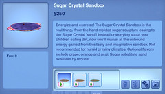 Sugar Crystal Sandbox