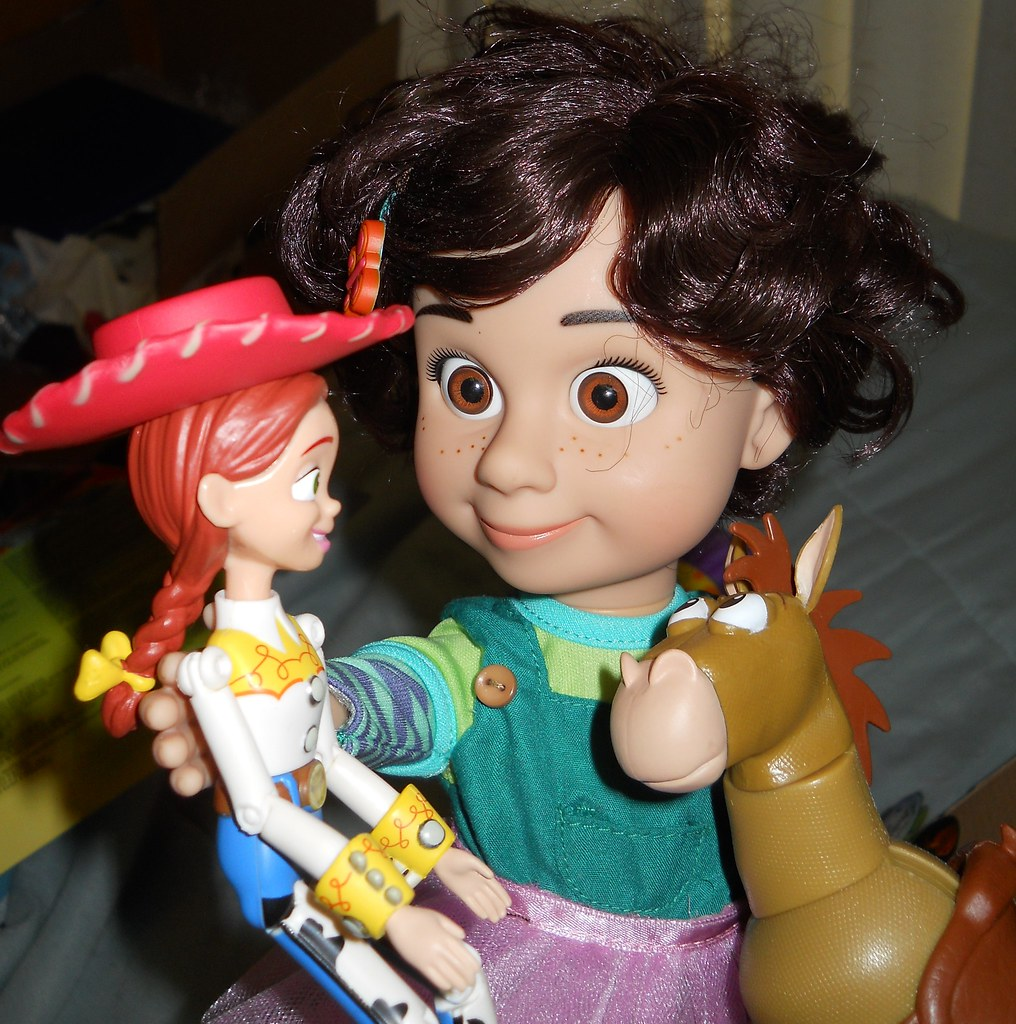 Toy Story Bonnie Plays With Jessie And Bullseye A Photo On Flickriver