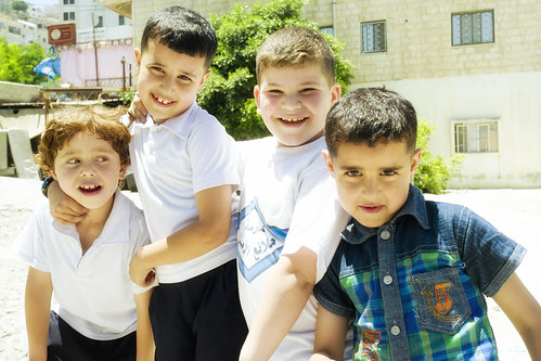city boys kids happy palestine westbank nablus laughter territories palestinian vestbredden