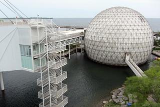 Image of Ontario Place (Closed for redevelopment). park toronto theatre atlantis dome ontarioplace imax pods doorsopen cinesphere zeidler