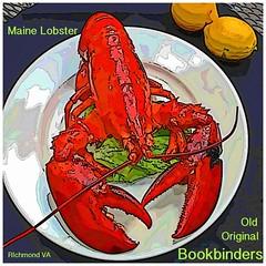 Maine Lobster Art at Bookbinders Restaurant Richmo…