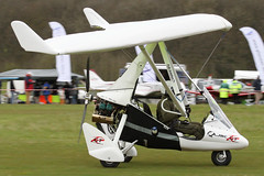 G-CHGA - 2012 build P & M Aviation Quik GTR Explorer, at the 2012 Microlight Trade Fair