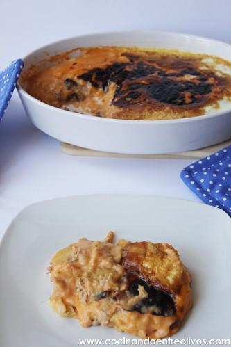 Patatas con bechamel y atún (15)