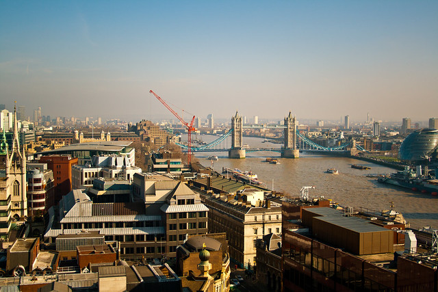 Thames from Monument